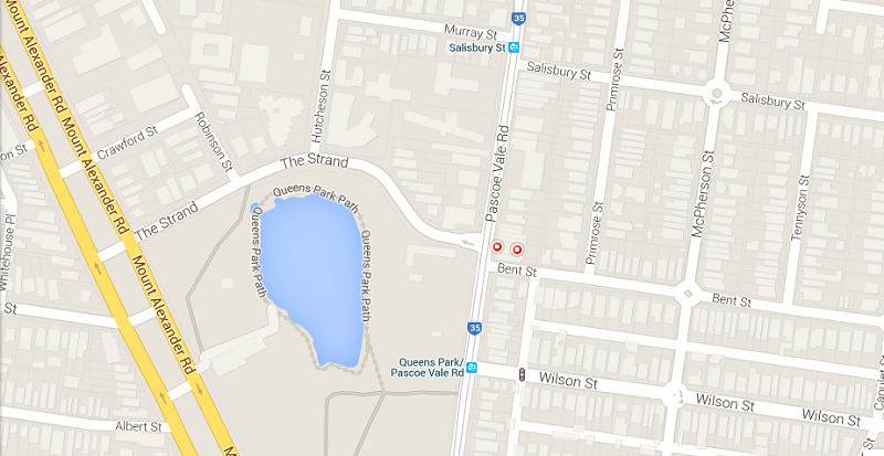 Map of moonee ponds office